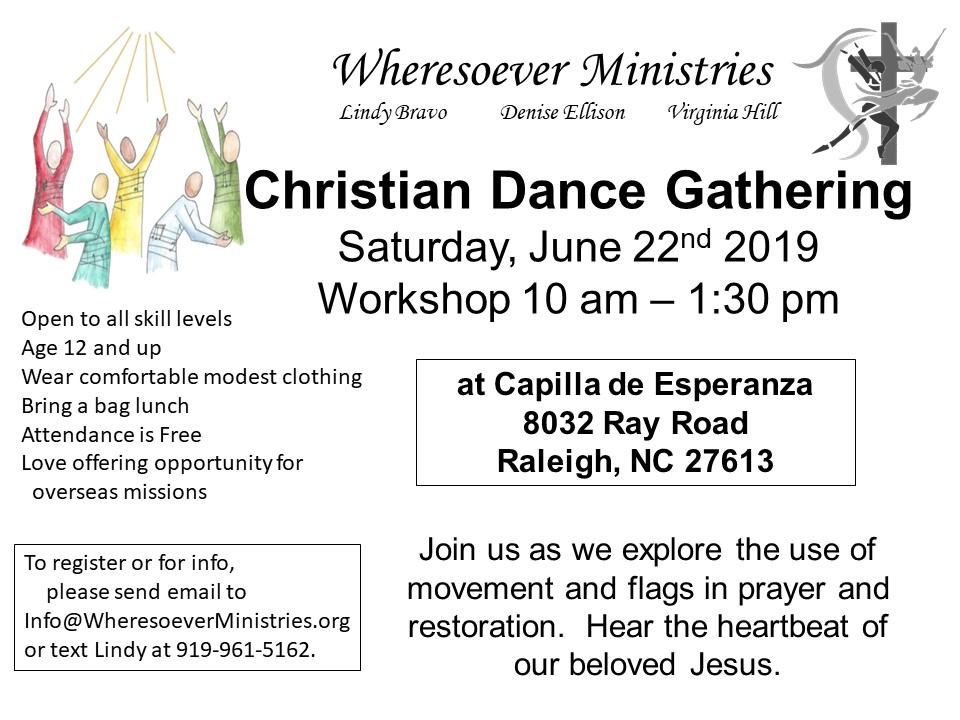 Christian Dance Flyer